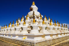 Tibet stupa Royalty Free Stock Photography