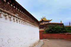 Tibet Tample Royalty Free Stock Photography