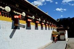 Tibet tempel Arkivbilder