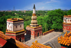 Tibet temple in Beijing Summer Palace ,China Stock Photography