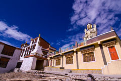 Tibet temple door Stock Photos