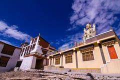 Tibet temple door Stock Photos