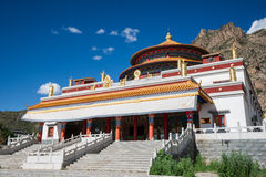 Tibet temple Stock Photo