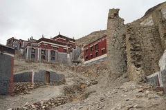 Tibet Gompa Royalty Free Stock Photo