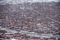 Tibet. Temples lama seda sichuan china royalty free stock images