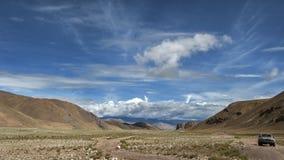 Tibet väg Fotografering för Bildbyråer