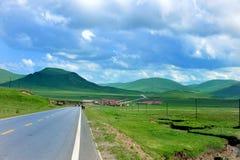 Tibet village Stock Photography