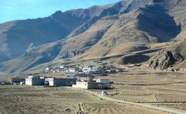 Tibet village Stock Photos