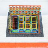 Tibet window style in Sikkim, India Stock Photos