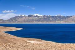 Tibet Xainza tangra yumco Royalty Free Stock Images