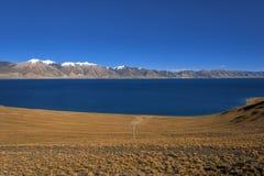 Tibet Xainza tangra yumco Stock Photos