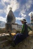 Tibet - Yumbu Lagang Monastery Royalty Free Stock Photos