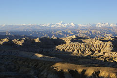 Tibet: Zanda Clay Forest Royalty Free Stock Image