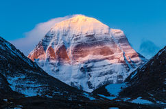 tibet Zet Kailash op royalty-vrije stock foto