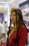 Tibetaans Meisje Stock Foto