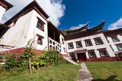 Tibetaanse architectuur Stock Foto