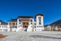 Tibetaanse architectuur Royalty-vrije Stock Fotografie
