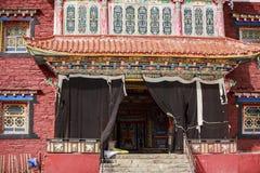 Tibetaanse boeddhistische tempel Royalty-vrije Stock Afbeelding