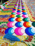 Tibetaanse decoratie stock fotografie