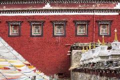 Tibetaanse tempel Royalty-vrije Stock Afbeelding
