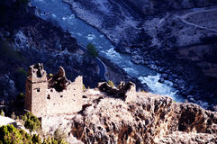 Tibetan ancient castle Stock Images