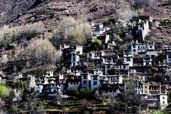 Tibetan ancient village Royalty Free Stock Image