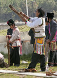 Tibetan Archery Royalty Free Stock Images