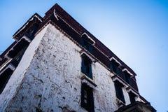 Tibetan Architecture. A Tibetan Building in Zhashilunbu Si Stock Photography