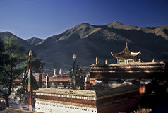 Tibetan Architecture, China Stock Images