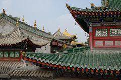Tibetan architecture Stock Photography