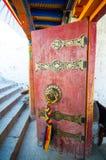 Tibetan architecture details Royalty Free Stock Photo