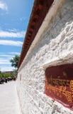 Tibetan architecture details Royalty Free Stock Image