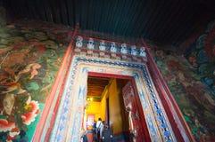 Tibetan architecture Stock Photos