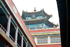 Free Tibetan Architecture In Putuo Temple Of Cases, Chengde, China Royalty Free Stock Image - 34169926