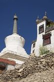Tibetan Architecture in Ladakh Stock Images