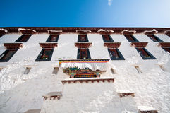 Tibetan architecture Royalty Free Stock Photos