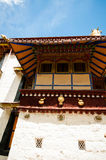 Tibetan architecture Royalty Free Stock Photography