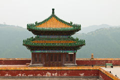 Tibetan Architecture in Putuo Temple of cases, Chengde, Mountain Royalty Free Stock Image