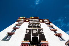 Tibetan architecture Royalty Free Stock Images