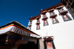 Tibetan architecture Stock Image
