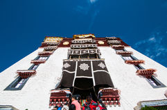 Tibetan architecture Stock Images