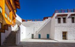 Tibetan arkitektur Royaltyfria Bilder
