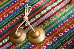 Tibetan bell Stock Photography