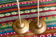 Tibetan bell Royalty Free Stock Images