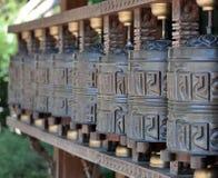 Tibetan bells happiness Stock Photos