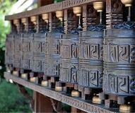 Tibetan bells luck Stock Photos