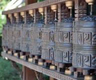 Tibetan bells. View of Tibetan bells luck Royalty Free Stock Photos