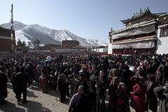 Tibetan Boeddhisme royalty-vrije stock afbeeldingen