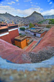Tibetan Boeddhistisch Klooster Royalty-vrije Stock Fotografie