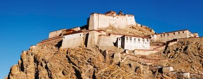 Tibetan boeddhistisch klooster Stock Foto's
